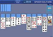 spider solitaire classique